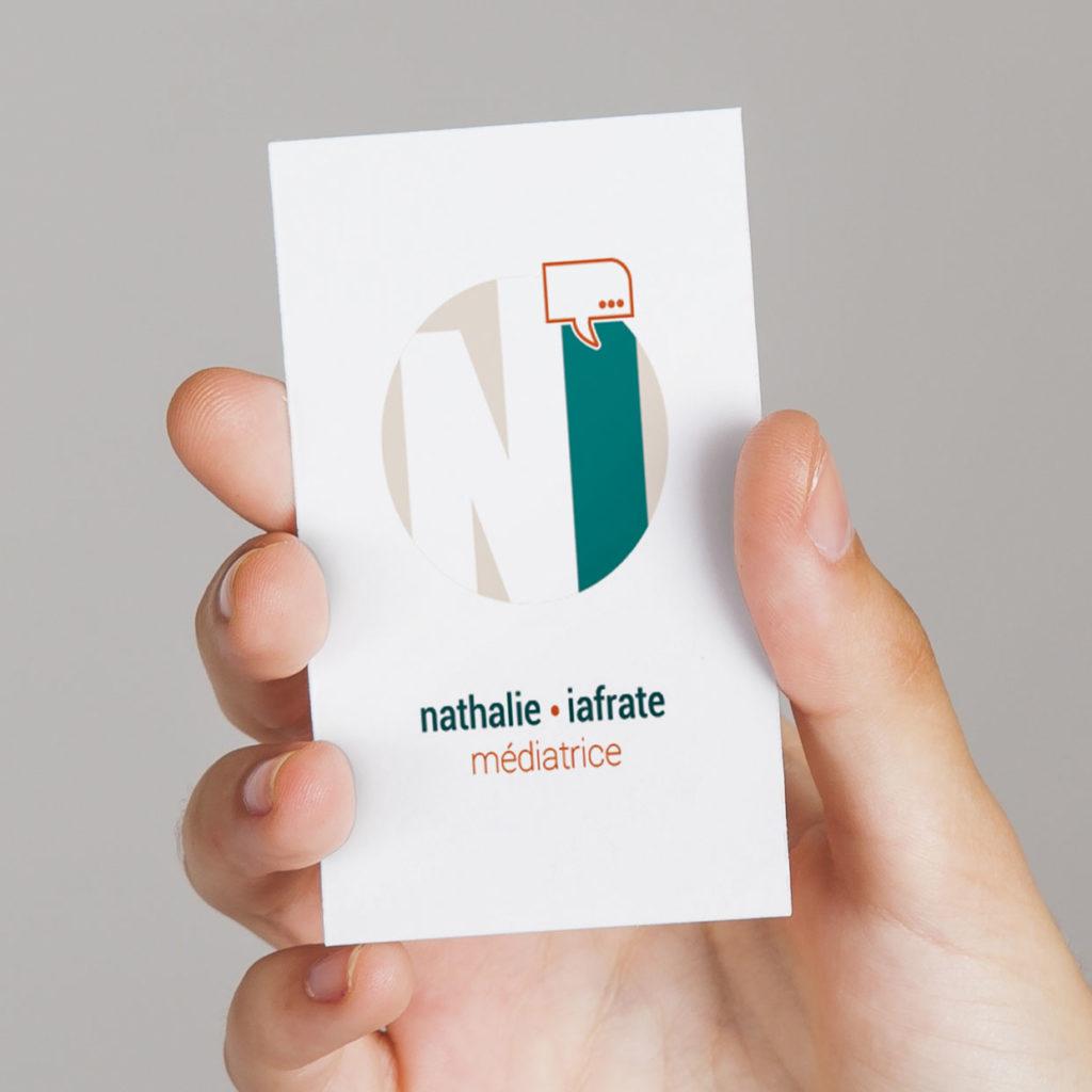 Carte de visite Nathalie Iafrate