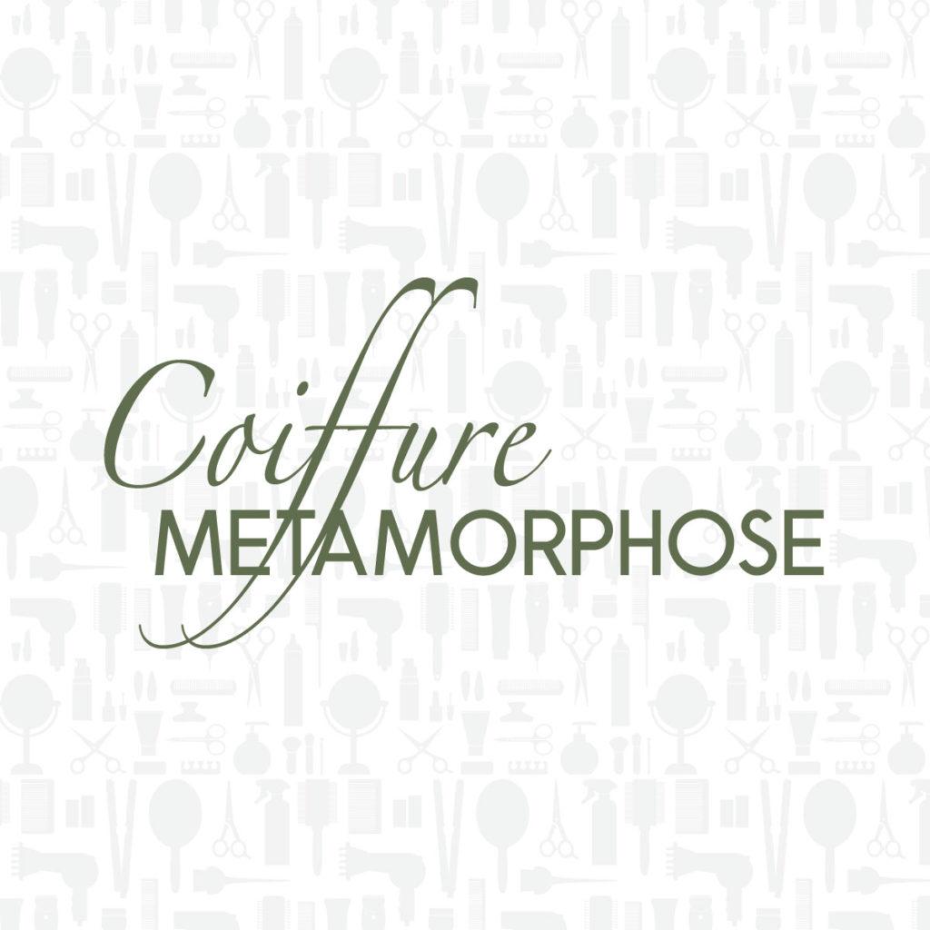 Création de logo | Coiffeur Métamorphose.